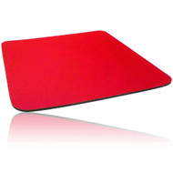 Single Colour Cloth Mouse Pad 260 X 220 X 5mm - Red
