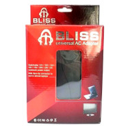 Bliss Universal Notebook 70W AC Adapter with Adj. Voltage 12-24V