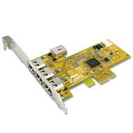Sunix PCI Express 2 External 1394B + 1 Internal. 1 External. 1394A port Card