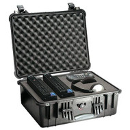 Pelican 1550 Case with Foam - Black