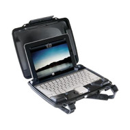 Pelican i1075 HardBack Case (with iPad insert) - Black