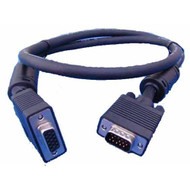 VGA Monitor Extension Cable HD15M-F with Filter UL Approved 5m