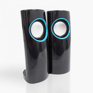 2 Piece USB Powered Compact Speakers