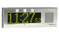 Small IP Clock / Intercom with Signal Lights