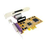 Sunix PAR5418AL PCIE 2-Port Parallel IEEE1284 Card - Low Profile