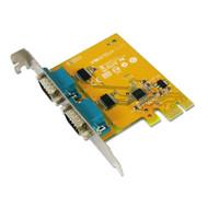 Sunix SER6437A PCIE 2-Port Serial RS-232 Card (DB9M)