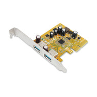 Sunix USB2312 Sunix USB3.1 Enhanced SuperSpeed Dual ports PCI Express Host Card with USB-A