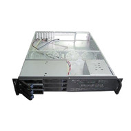 Rack Mountable Server Chassis Case 2U 650mm Depth with 6 Bays Hot-Swap and ATX PSU Window - no PSU
