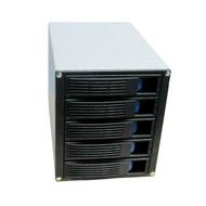"Rack-up HDD Module 5.25"" Internal Enclosure 5 Bay Hot-Swap SATA/SAS Backplane"