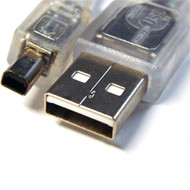 USB 2.0 Certified Cable A-B 4 Pin Mini 3m