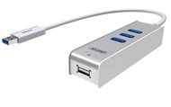 Unitek USB OTG Hub with KM Swap and File Transfer