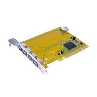 USB 2.0 PCI Card with 5 X A Ports (4 Extl, 1 Int) NEC Chip