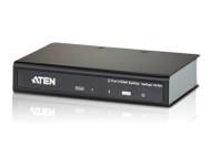 Aten VanCryst 2 Port HDMI Video Splitter - 4kx2k (Ultra HD), 1080p or 15m Max