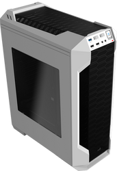 Aerocool LS-5200B Mid Tower Case for water cooling- White