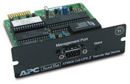 APC Out-of-Band Management SmartSlot Card