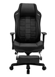 DXRacer CE120 Classic Series Gaming Chair Lumbar Support with Leg Rest - Black