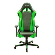DXRacer Racing Series Gaming Chair, Neck/Lumbar Support - Black & Green