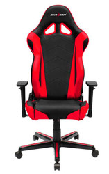DXRacer Racing Series Gaming Chair, Neck/Lumbar Support - Black & Red