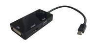 Mini DisplayPort to DVI/HDMI/VGA M/F Adapter