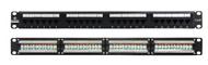 LinkBasic 24 Port Cat6A UTP Patch Panel Rack Mount