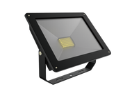 Energetic SupValite Weatherproof LED Slim Floodlight IP65 10W 4000K 600Lm Black [272001]