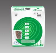 LEDware LED Flex Ribbon Strip Kit 12V 5m White LED/m Inc. Power Adapter