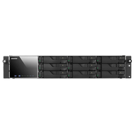 ASUSTOR AS7009RDX 9-Bay Rack mount NAS, Redundant Power Supply, Xeon Quad Core, GbE x4 (Link Aggregatio)