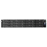 ASUSTOR AS7012RDX 12-Bay Rack mount NAS, Redundant Power Supply, Xeon Quad Core, GbE x4 (Link Aggregati)