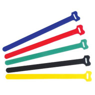 "Pro'sKit Hook and Loop Cable Tie-8"" Assortment (Unit:15pcs/pack)"