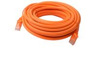 Cat 6a UTP Ethernet Cable, Snagless - 10m Orange