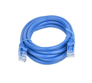Cat 6a UTP Ethernet Cable, Snagless - 2m Blue
