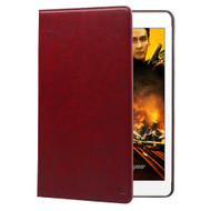 Promate 'Wallex-Air2' Premium Leather Wallet Case w/Card Holder for iPad Air 2 - Red
