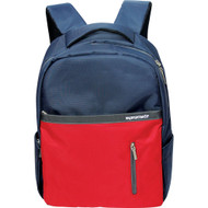 "Promate 'Dapp-BP' Dual Toned Laptop Backpack for 14"" Notebooks - Blue & Red"