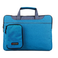 "Promate 'Desire-L' Cassic Elegant Tote With Sophisticated Styling For Laptops upto 15.4"" - Blue"