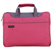 "Promate 'Desire-L' Cassic Elegant Tote With Sophisticated Styling For Laptops upto 15.4"" - Red"