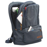 Promate 'Drake' Premium Backpack with Multiple Storage Options - Blue