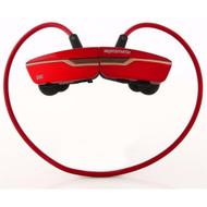 Promate 'Match' Ergonomically Designed Lightweight Neckband Wireless Headset - Maroon