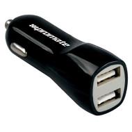 Promate 'Vivid' 3,100mA USB Universal Car Charger w/Dual USB Ports - Black