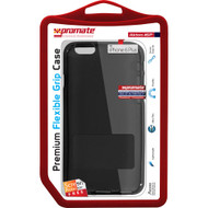 Promate 'Akton-i6P' Premium Flexible Grip Case w/Screen Protector for iPhone 6P/6SP - Black