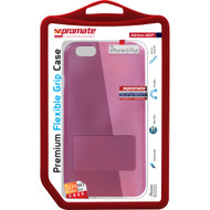 Promate 'Akton-i6P' Premium Flexible Grip Case w/Screen Protector for iPhone 6P/6SP - Pink