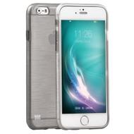 Promate 'Schema-i6P' Premium Flexible Metallic Styled case for Iphone 6P/6SP -Grey