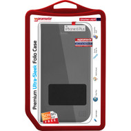 Promate 'Stellar-i6P' Ultra-Sleek Folio Case w/Screen Protector for iPhone 6P/6SP - Black