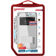 Promate 'Tama-i6P' Flip Cover for iPhone 6P/6SP w/Touch Window - White