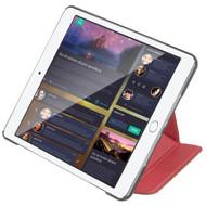 Promate 'Origami-Mini4' Premium Folio Case w/Unique Origami Folding Stand - Red
