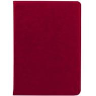 Promate 'Wallex-Mini4' Premium Leather Wallet Case w/Card Holder for iPad Mini4 - Red