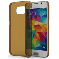 Promate 'Frost-S6' Premium Ultra-Slim Matte Finish Case for Galaxy S6 w/Screen Protector - Gold