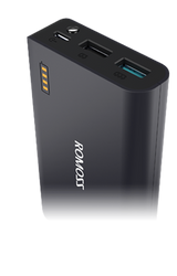 ROMOSS Sense X Power Bank, QC3.0, Synchronous Charging & Discharging, 10000mAh Capacity