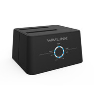 Wavlink USB 3.1 Gen 1 Type-C Dual Bay HDD/SSD Docking Station