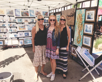 Artdivas at Leucadia Artwalk 2015