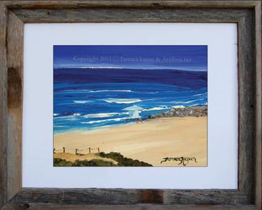 Carlsbad Beach Jetty by Tamara Kapan
